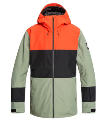 Quiksilver Sycamore Jacket - Agave Green