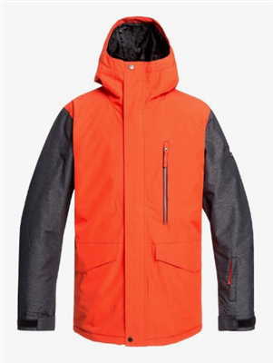 Quiksilver Mission Jacket - Poinciana