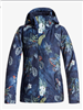 Roxy Jetty Jacket - PEACOAT_ORISSA FLORAL