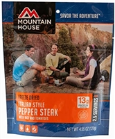 Mountain House Italian Style Pepper Steak