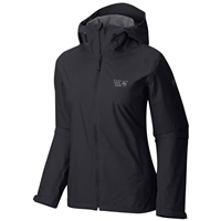 Mountain Hardwear Women's Finder Rain Jacket - Black
