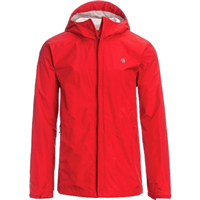 Mountain Hardwear Men's Acadia Rain Jacket - Red