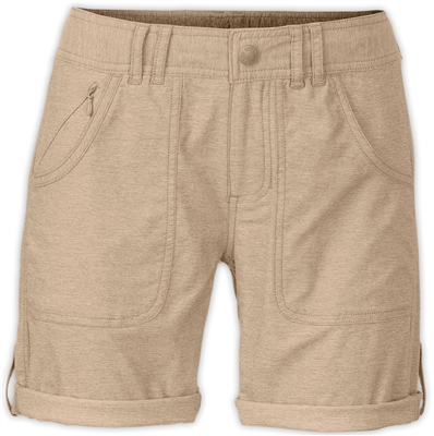 The North Face - Womens - Horizon 2.0 Roll-Up Shorts - Dune Beige