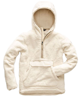 The North Face Women's Campshire Pullover Hoody - Vintage White/ Peyote Grey
