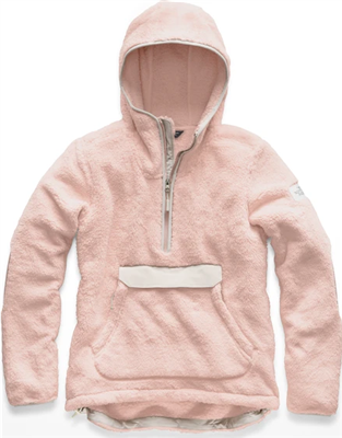 The North Face Women's Campshire Pullover Hoody - Pink Salt/ Grey