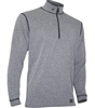Men's Polarmax Micro H2 Zip Mock Shirt - Grey