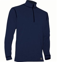 Men's Polarmax Micro H2 Zip Mock Shirt - Royal