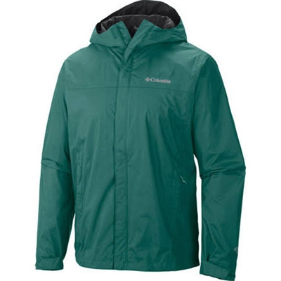 Columbia Men's Watertight II Rain Jacket- Pine Green