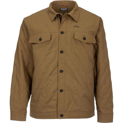 Simms Men's Dockwear Jacket - Dark Bronze