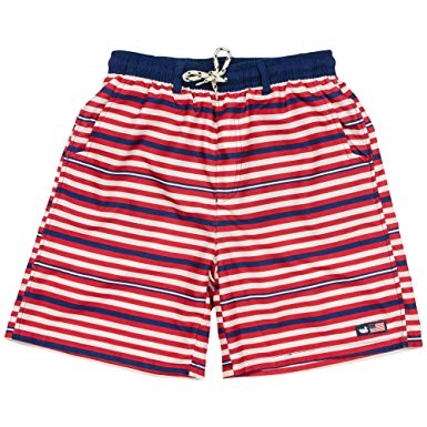 Southern Marsh Dockside Swim Trunk - USA Red/White/Blue