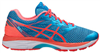 Asics Women's gel-Cumulus 18: Aquarium/ Flash Coral/ Blue Jewel