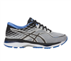 Asics Men's gel-Cumulus 19: Grey/Black/Directoire Blue Running