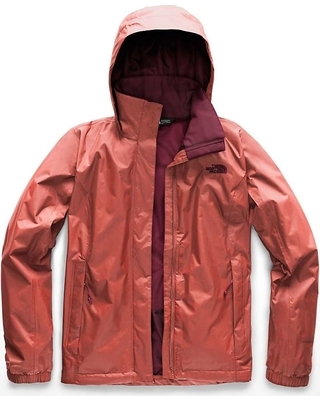 The North Face Women's Resolve 2 Jacket- Faded Rose
