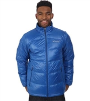 Columbia Men's Gold 650 Turbodown Jacket- Marine Blue
