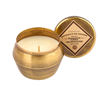 5 ounce Brass Tin Candle