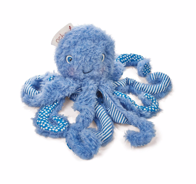 blue octopus stuffed animal