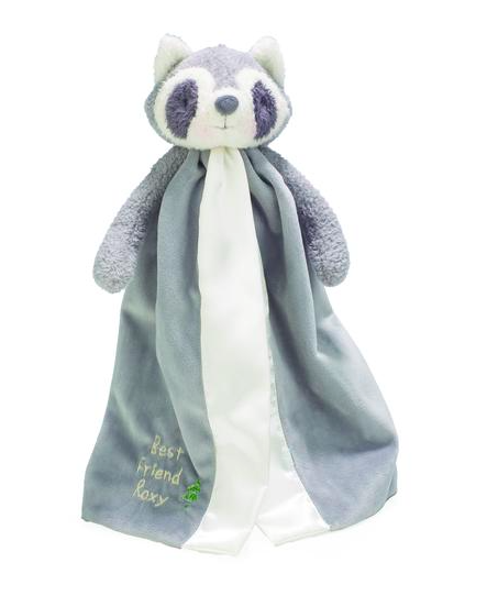Bunnies By The Bay Roxy The Raccoon Buddy Blanket Baby Security