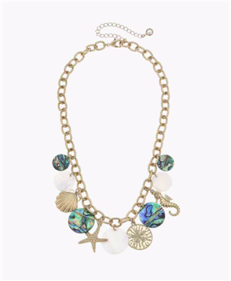 Ladies Beachcomber Statement Necklace