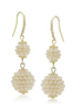Pearl Ball Drop Earrings