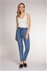 Women's blue tencel pants