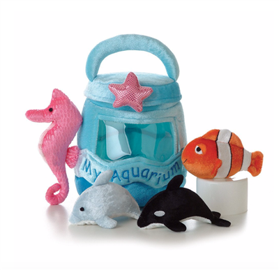 Baby Aquarium Plush Set