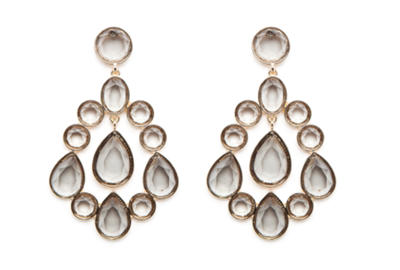Women's Vivianne Gray Earrings