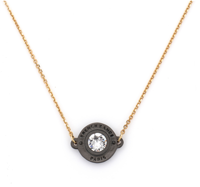 French Kande Noir Annecy Necklace Gold
