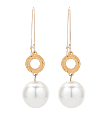 French Kande Pearl Dangle Earrings