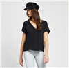Gentle Fawn women's easterly top in black