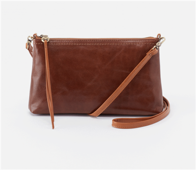 ladies brown leather cross body bag