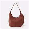 "Hobo Bags ""Gardner"" Toffee Leather Handbag."