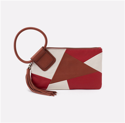 Hobo Bags Sable Wristlet in Colorblock