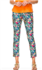 Women's 29 inch ankle pants in a parrot print