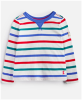 red, blue and green long sleeve toddler t-shirt