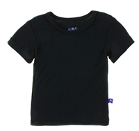 short  Sleeve baby Tee in black