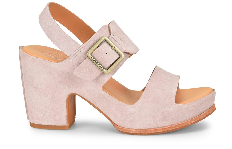 e5b340d31592a2 San Carlos suede sandal in light pink from Kork-Ease - comfortable ...