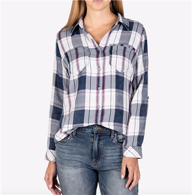 Kut From The Kloth Hannah Plaid Top