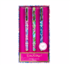 Lilly Pulitzer set of 3 colored pen set.