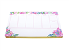 "Lilly Pulitzer weekly desk pad in in ""Totally Blossom"" print."