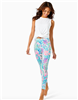 Ladies Lilly Pulitzer Midi Leggings in Toucan Do It Better print.