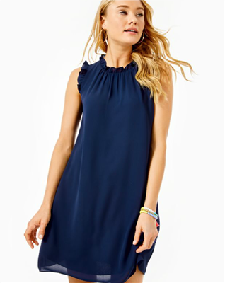 Ladies Lilly Pulitzer Navy Talisa Sleeveless Dress