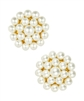 Pearl Button Earrings from Lisi Lerch