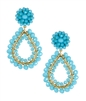 Lisi Lerch Margo Earrings Aqua