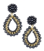 Lisi Lerch Margo Earrings Gunmetal