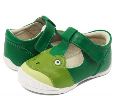 froggy t-strap baby walker shoe