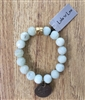 Green Amazonite Stretch Bracelet from Lula 'n' Lee