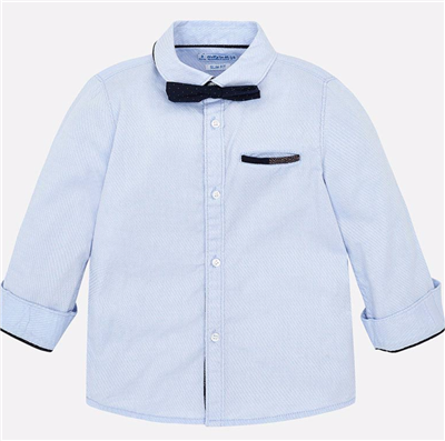 toddler blue button front shirt
