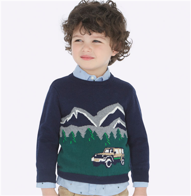 navy toddler sweater