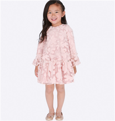 Mayoral Toddler Pink Tulle Flower Dress