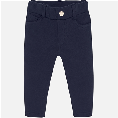Baby navy pull on pants